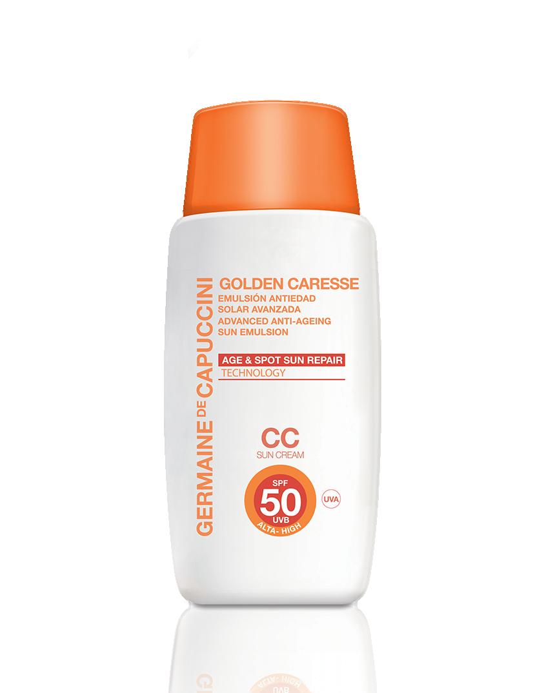 Advanced Anti ageing sun repair cc cream spf50