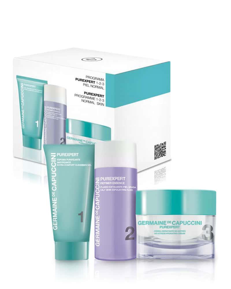 Akne, Hudormer og kviser behandling for normal-kombinert hud.