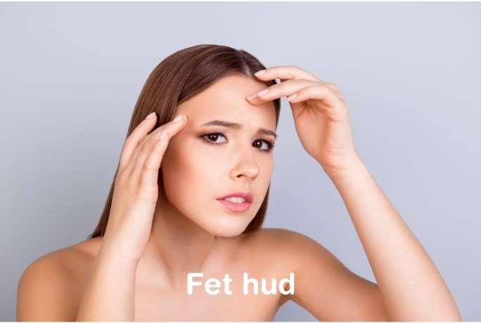 hudtyper fet hud