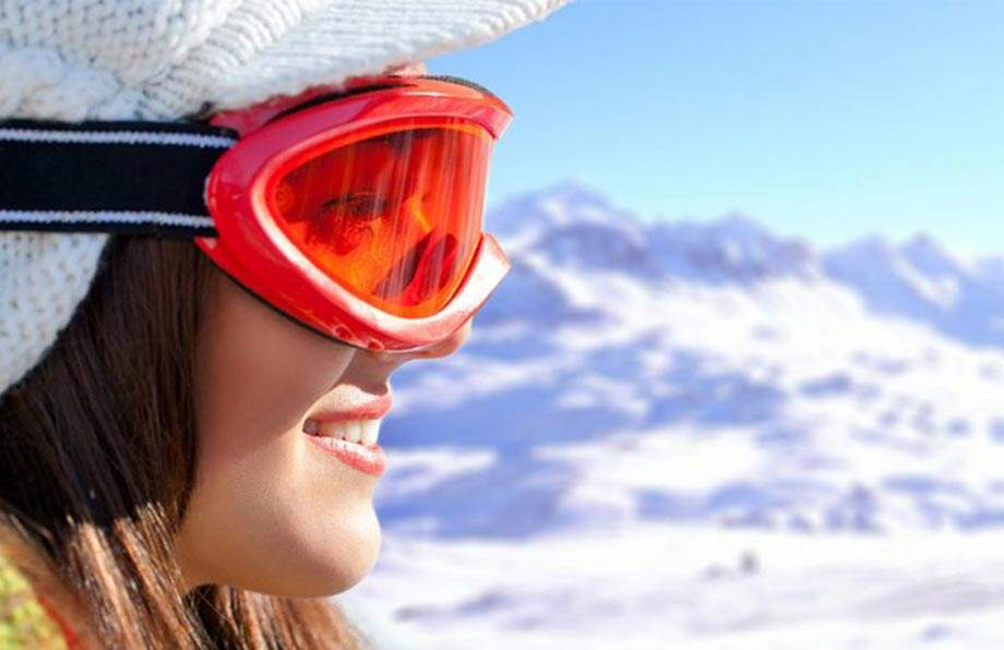 Ta vare på huden din i snøen