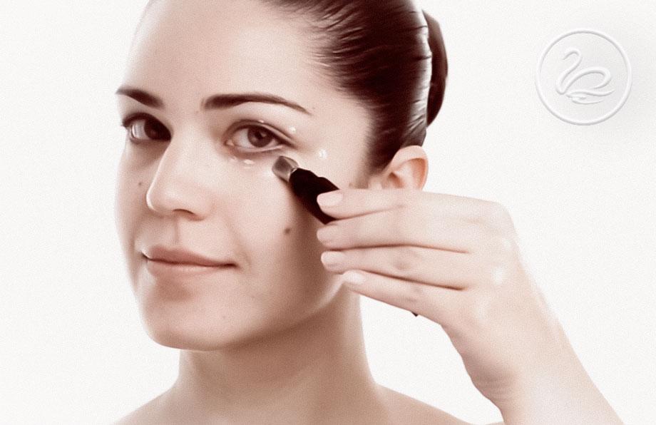 Mørke ringer under øynene kan behandles