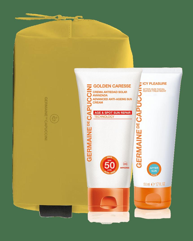 Sun Bives Kit Antialdring Krem SPF50
